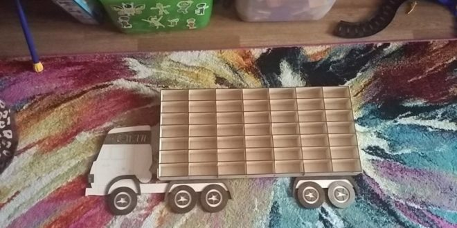Laser Cut File Shelf Truck For Trolleys