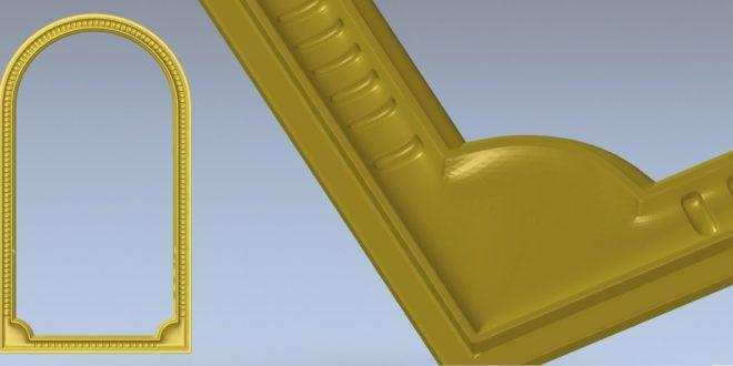 Free 3D Model Frame STL Decor 1345