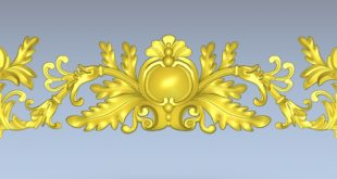 Relief 3D STL Cnc Cut 3D File Decor 1367