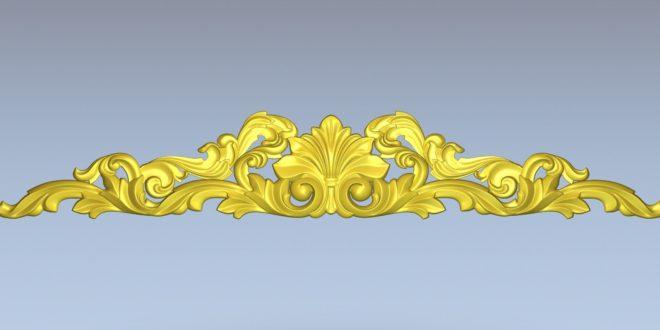 3D pattern stl cnc model decoration 1371