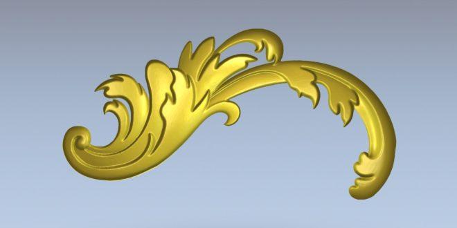 Free 3D stl decoration model 1374