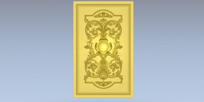 Plate decoration board stl file 3D 1376