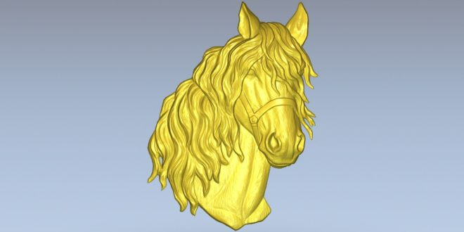 Horse Head 3d cnc file to download stl 1382