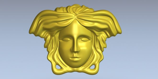 Free 3d stl face model to cnc relief 1383