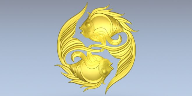 Fish Cnc Relief Download Model STL 1391