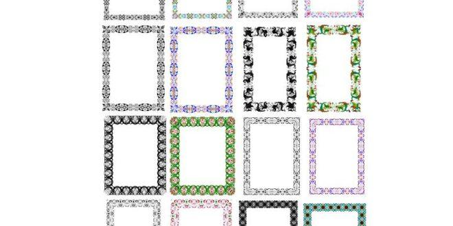 Free Pack Vectors Frames cdr corel