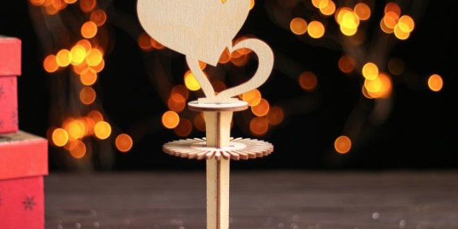 Free download laser cut Napkin ring with hearts