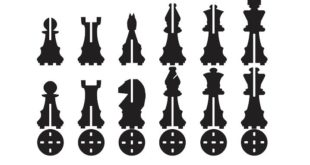 Free 2D DXF Laser Cut Chess Set