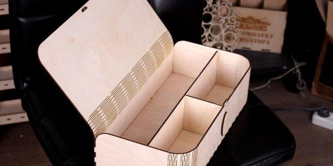 Free laser cut file box folding lid dxf cdr