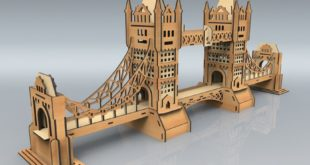 Laser Cut Plan Design Bridge