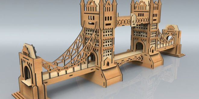 Laser Cut Plan Design Bridge
