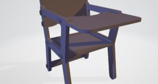 Free Cnc File Doll High Chair cnc style wedged mortise joints