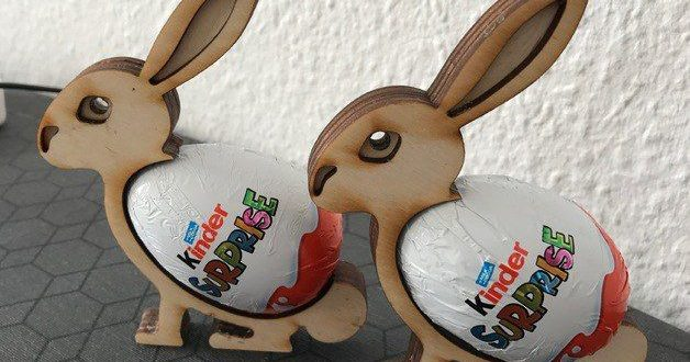 Free template laser cnc cut Easterbunny Easter