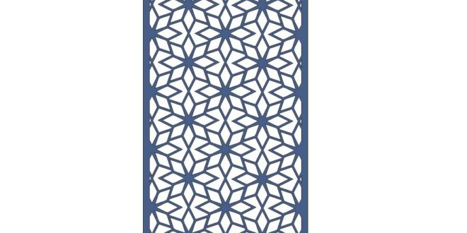 Free Flower partition wall Vector Decor
