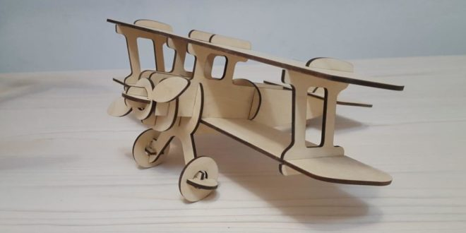 Cnc Laser Cut Aircraft Model Airplane DXF