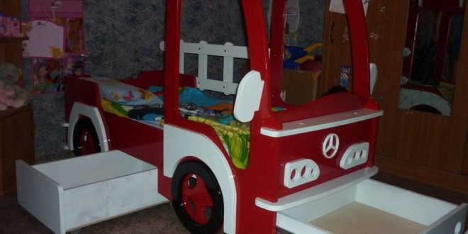 Bed Truck CDR File For WoodWorking Plan Design