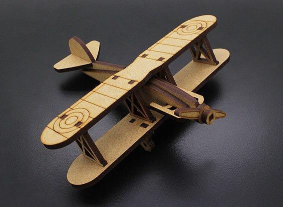 Free Laser Cut Biplan Airplane Toy Cdr Dxf  U2013 Dxf Downloads
