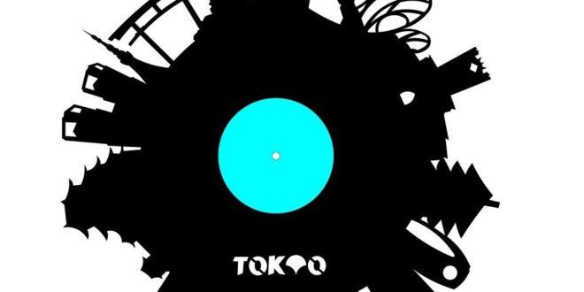 Tokyo Vinyl Clock Vector Cnc dxf cdr