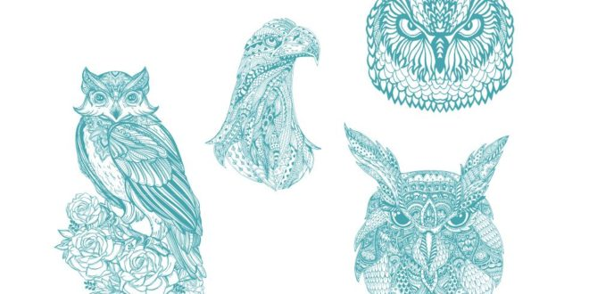 Free eagle owl cdr cnc engraving files