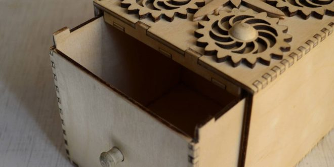 Free sample laser cut box 2 template download