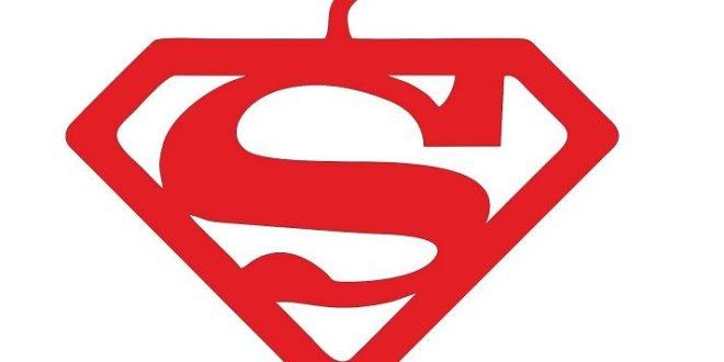 Free Cnc Vector Super Man Hanger