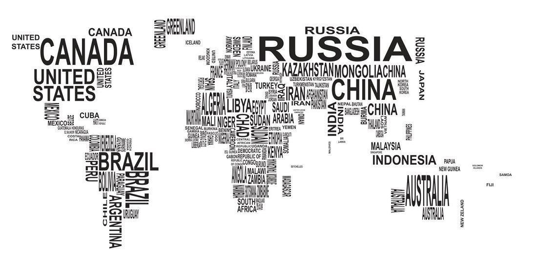Free Vector World Map Wall Decor CDR - DXF DOWNLOADS ...