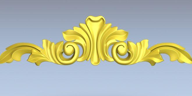 Arabic Islamic Element decoration 3D File Cnc STL 1431
