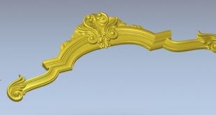 Free 3D Relief Design STL File for CNC Routers 1435