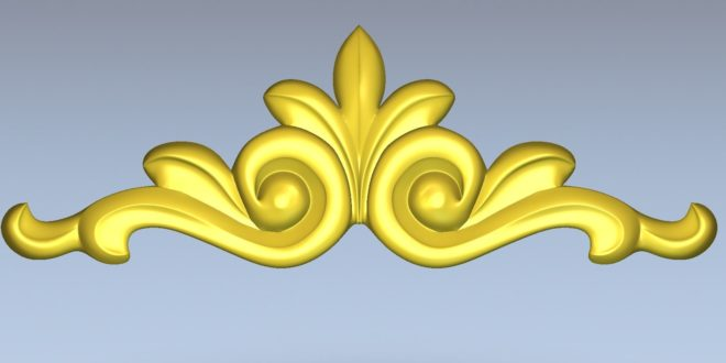 Free download element decoration stl relief cnc 1445