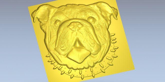 Dog Relief Animal download stl file 1454