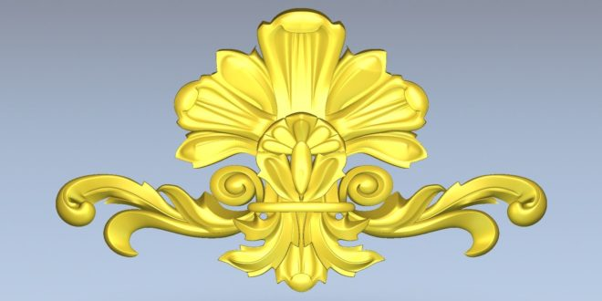 Element decoration 3d model stl cnc file 1463