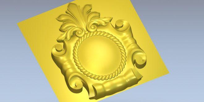 Free download 3d decoration stl 1475
