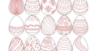 Free easter eggs cutting and laser engraving