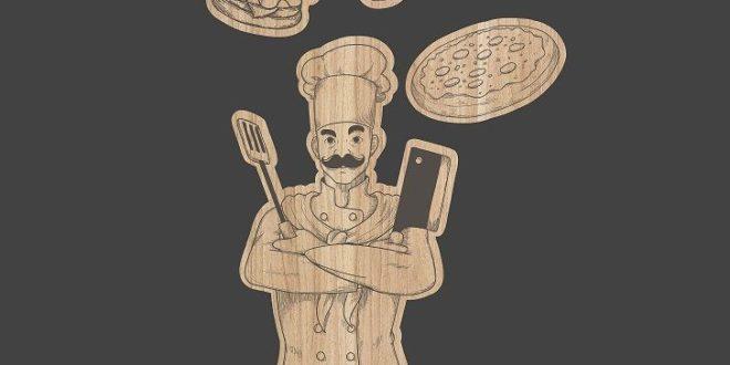 Free laser cuttter engraving file cook kitchen board
