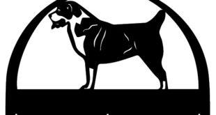 Free cnc dog san bernardo Vector to make Keychain