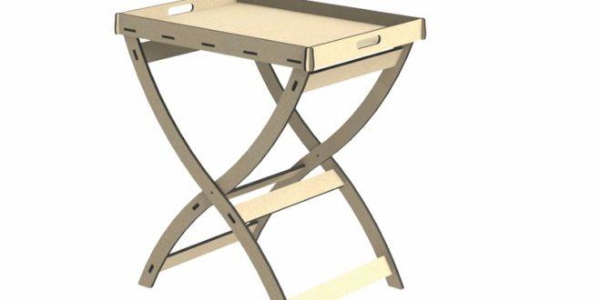 Cnc Wood Cut File Sideboard Table 9mm + 6mm