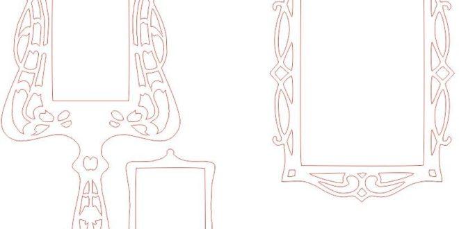 Free cnc cut file mirror vectors