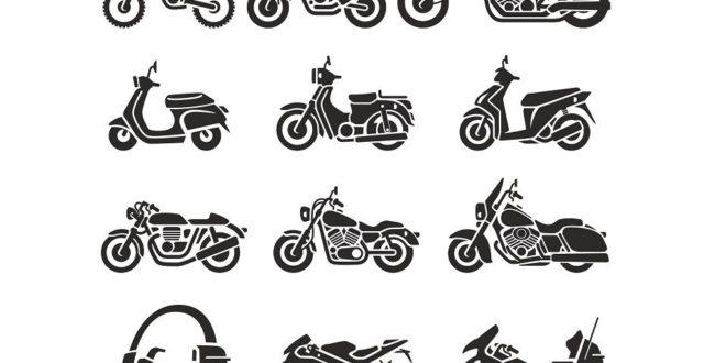 Free Moto silhouettes motorcycle motorbike