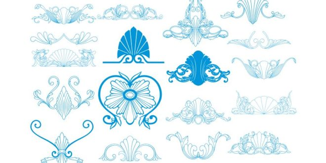 FREE Pack vectors engrave patterns decor layout cdr