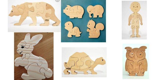 Pack 2d puzzle cut files animals kids wooden cnc