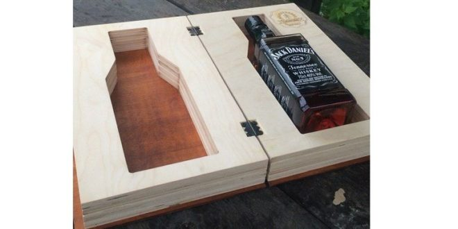 Free whiskey box