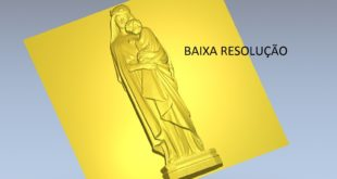 Free religious low resolution 3d file 1481
