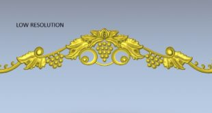 Free download grape plant decoration stl 1492