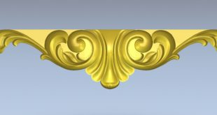 Free table decor relief 1495