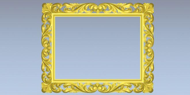 Free download model relief mirror vcarve artcam stl 1530