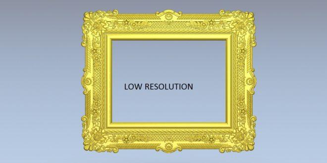 Download free 3d model 3d print mirror cnc 1532