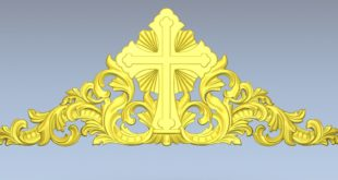 Religious decoration 3d relief file 1569