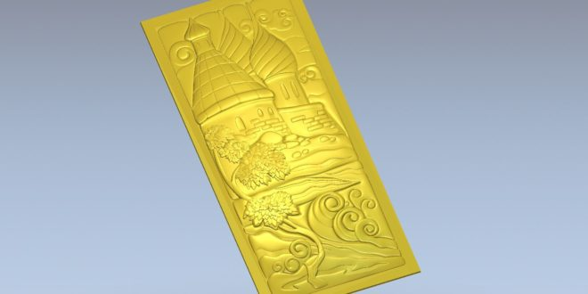 3D File to cnc make wood cut artcam stl 1583