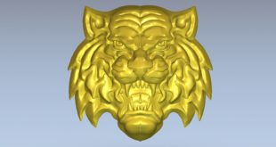 Tiger Jaguar cnc wood carving 3d file 1592