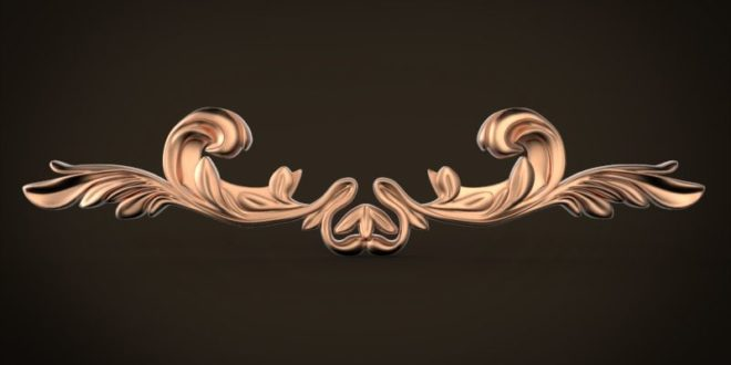 Free decor abstract relief cnc design 3d model 1596